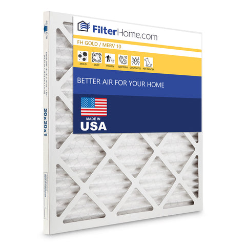 FilterHome Gold MERV 10 Air Filter Subscription
