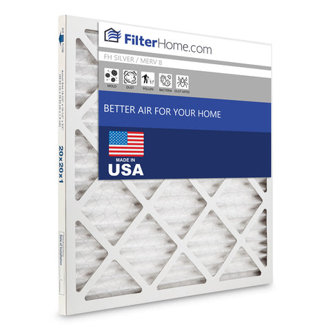 FilterHome Silver MERV 8 Air Filter Subscription