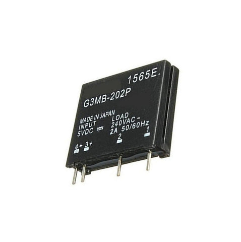 Solid State Relay Module G3MB-202P PCB SSR In 5V DC Out 240V AC 2A