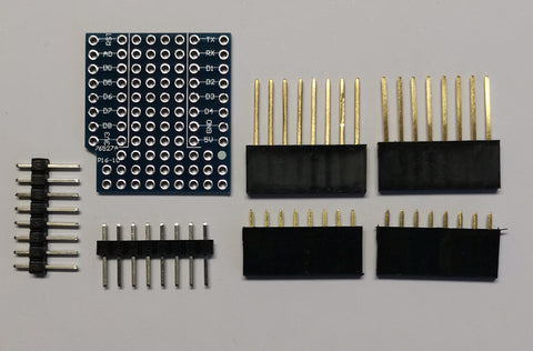 Wemos D1 Mini Base ProtoBoard Shield