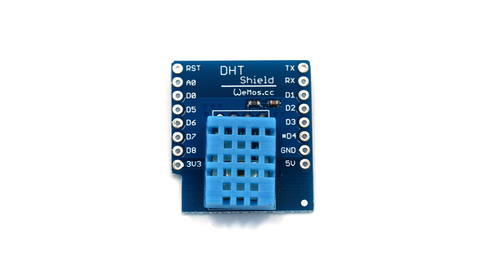 DHT11 Single-Bus Digital Temperature Shield For Wemos D1 Mini-Transweb Electronics