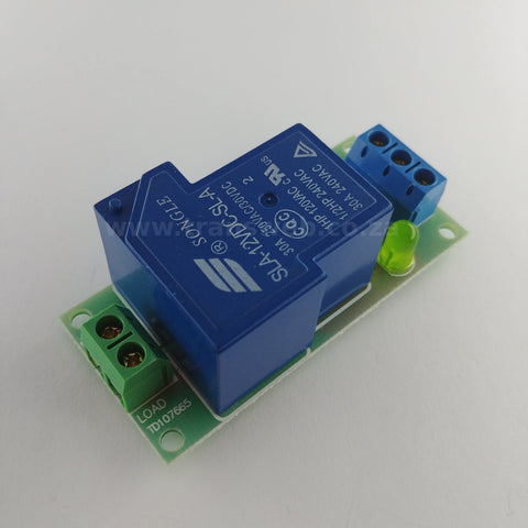 High Power Relay Module 12V 30A-Transweb Electronics