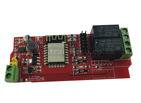 Wifi IoT Relay Board VDC Based on ESP8266-Transweb Electronics