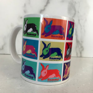 Sammy's Andy Warhol Mug- Left