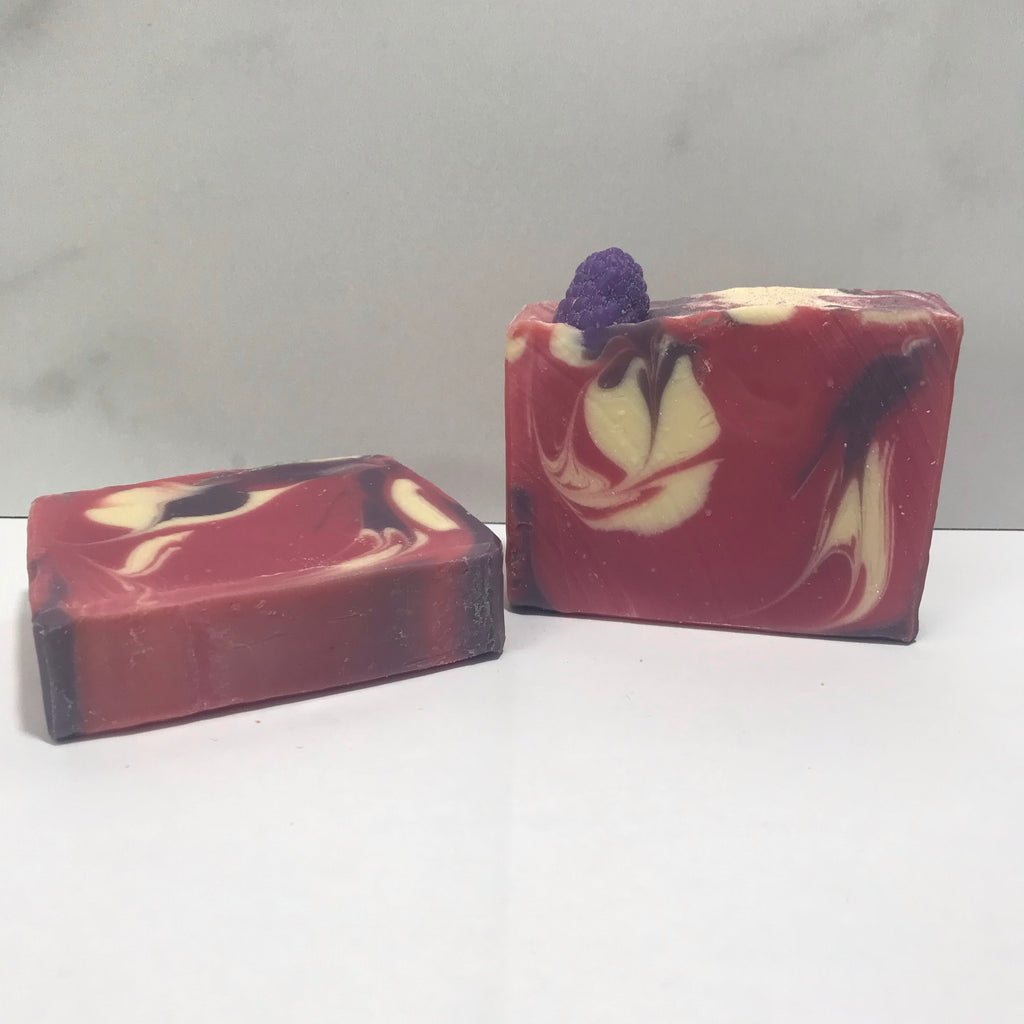 Soap Bar- Black Rasberry Vanilla