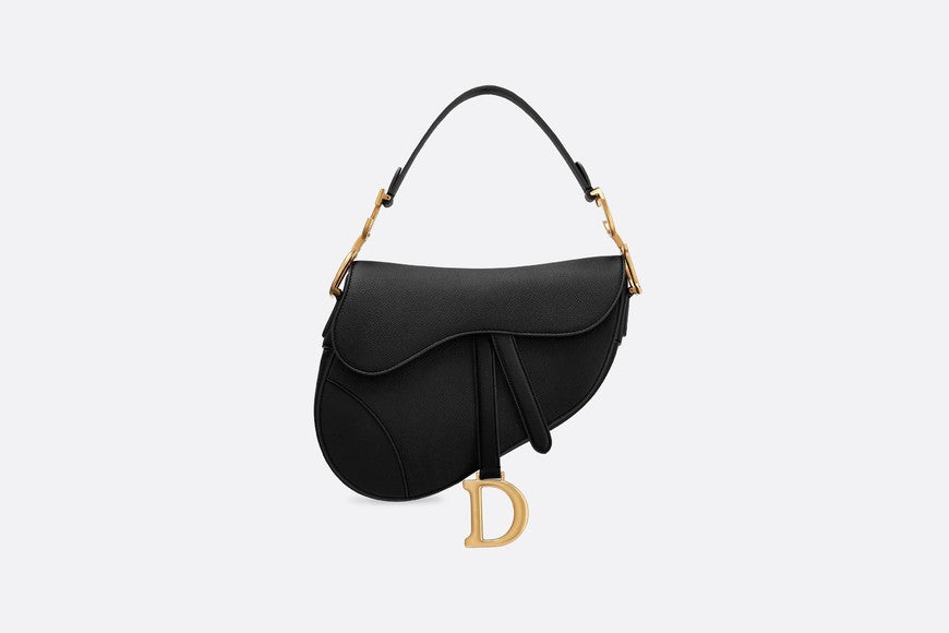 Saddle calfskin bag