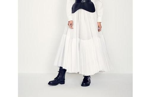 Cotton voile skirt