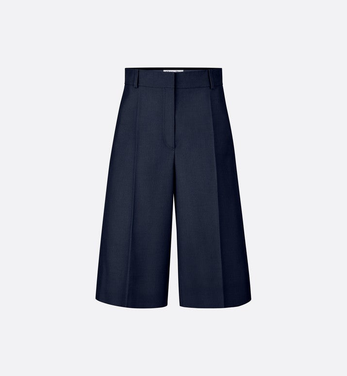 SILK OTTONMAN CROPPED PANTS