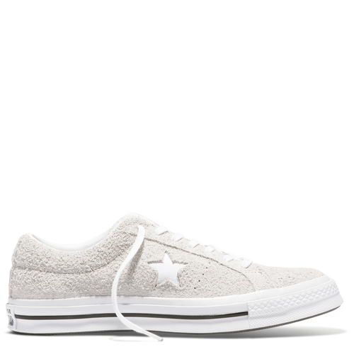 One Star Suede Low Top White White White White