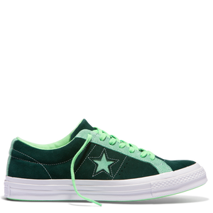 One Star Carnival Low Top Ponderosa Pine Neptune Green