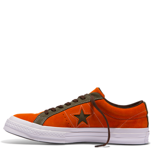 One Star Carnival Low Top Bold Mandarin Field Surplus
