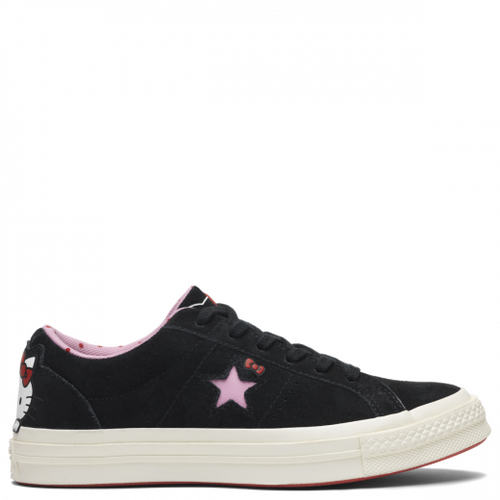 Converse X Hello Kitty One Star Low Top Black