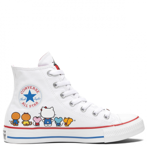 Converse X Hello Kitty Chuck Taylor All Star High Top White