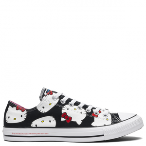 Converse X Hello Kitty Chuck Taylor All Star Low Top Black