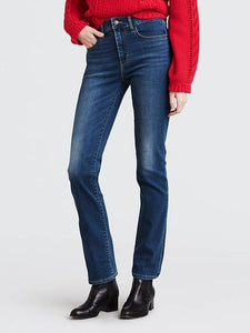 724 High Rise Straight Jeans -  Indigo Typhoon