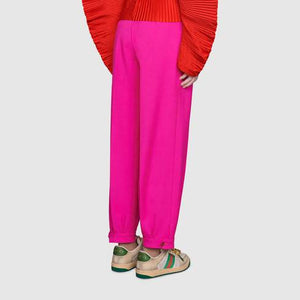 Wool ankle pant