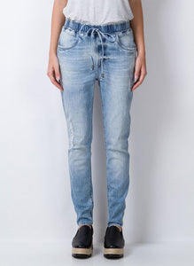 CALÇA JOGGING HIGH ANKLE JEANS