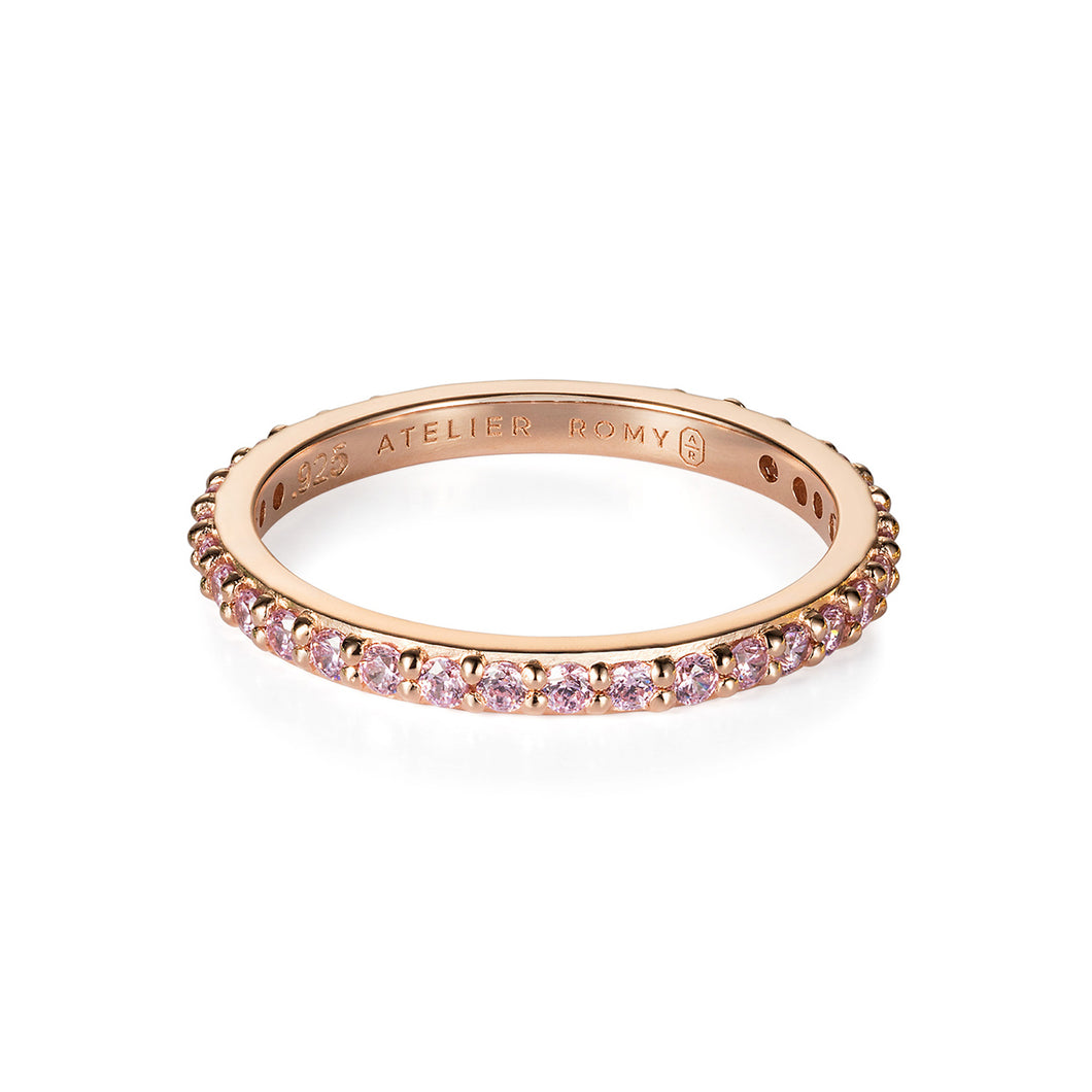 ROSE GOLD RINGS IN SUPPORT OF BREST CANCER