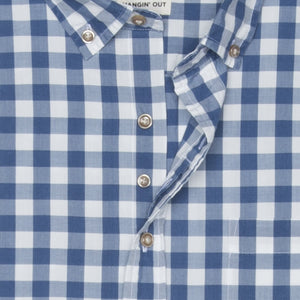EASON HANGIN' OUT SHORT SLEEVE BUTTON DOWN SHIRT
