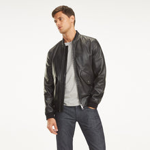 Leather Racing Jacket
