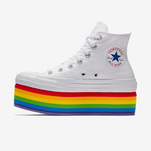 Converse Pride x Miley Cyrus Chuck Taylor All Star Platform High Top