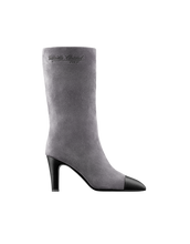 High boots (gray & black)