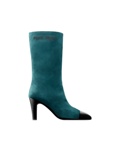 High boots (green & black)