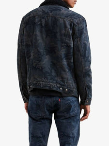 Sherpa Trucker Denim Jean Jacket