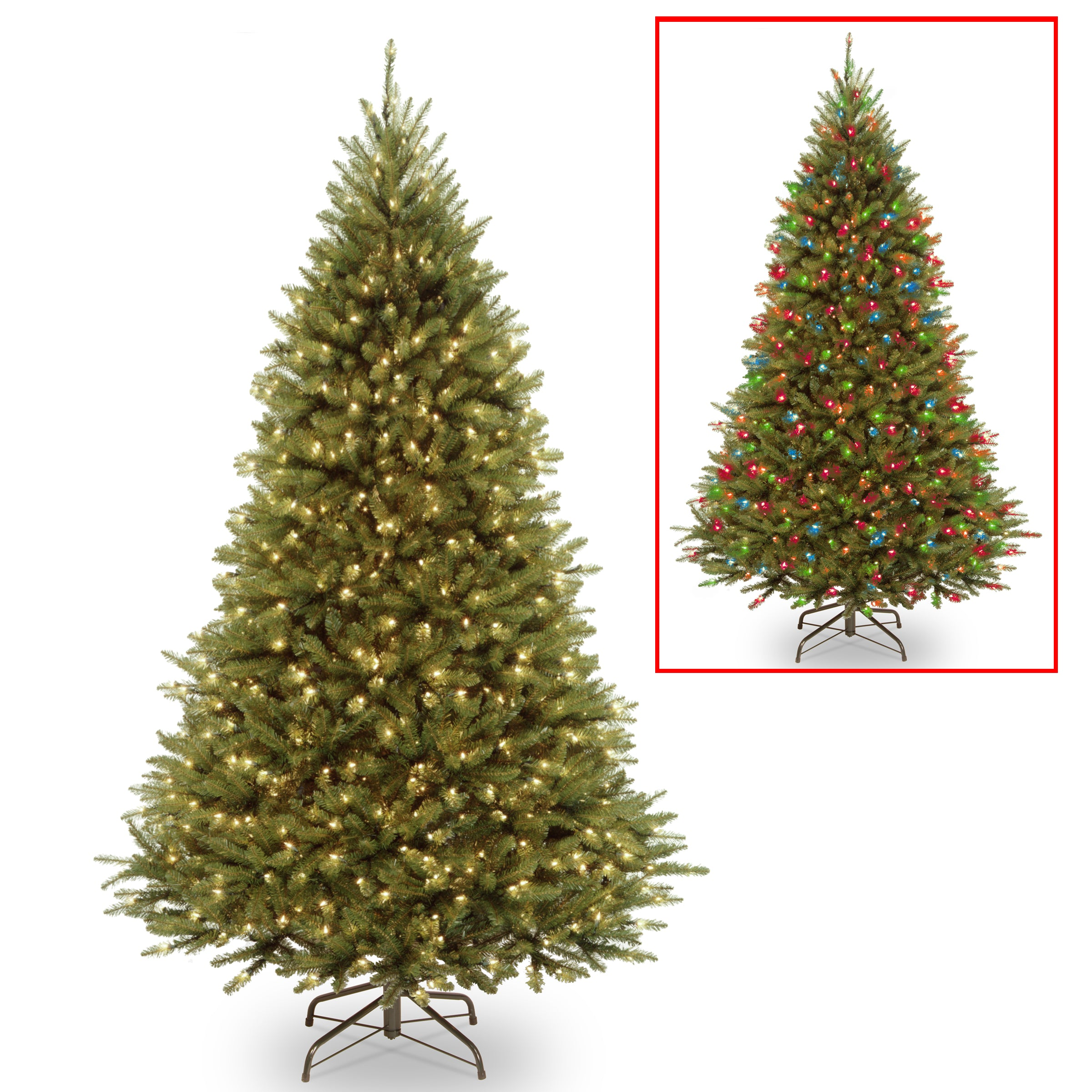 National Tree Kw7-d53-75 7 1/2' Kingswood Fir Medium Hing...