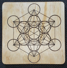 Crystal Grid Board - Metatron