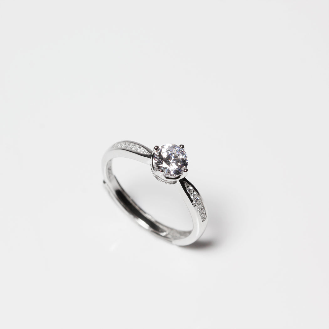 Round 0.6 Carat Channel Setting Ring