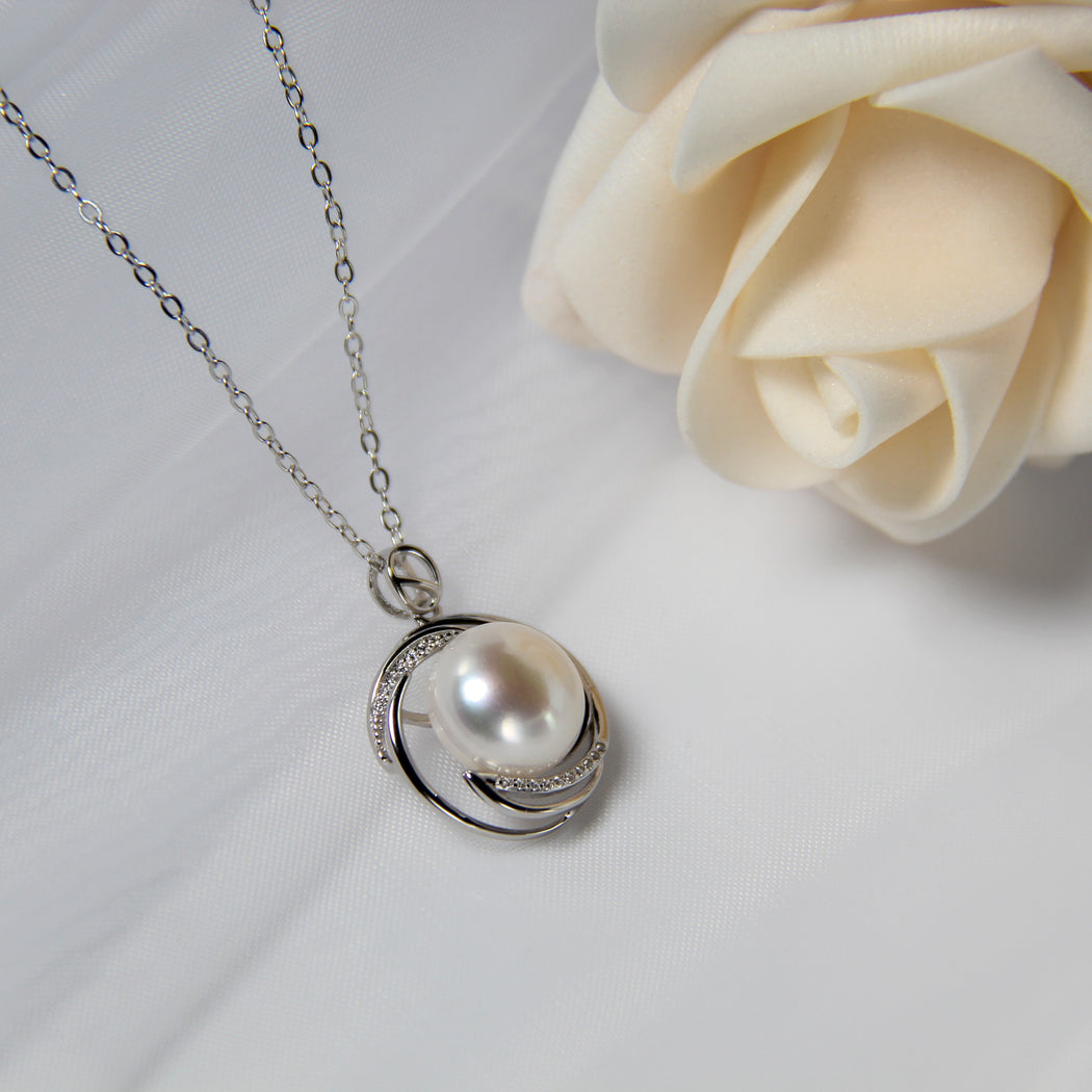Fresh Water Pearl Ocean Necklace