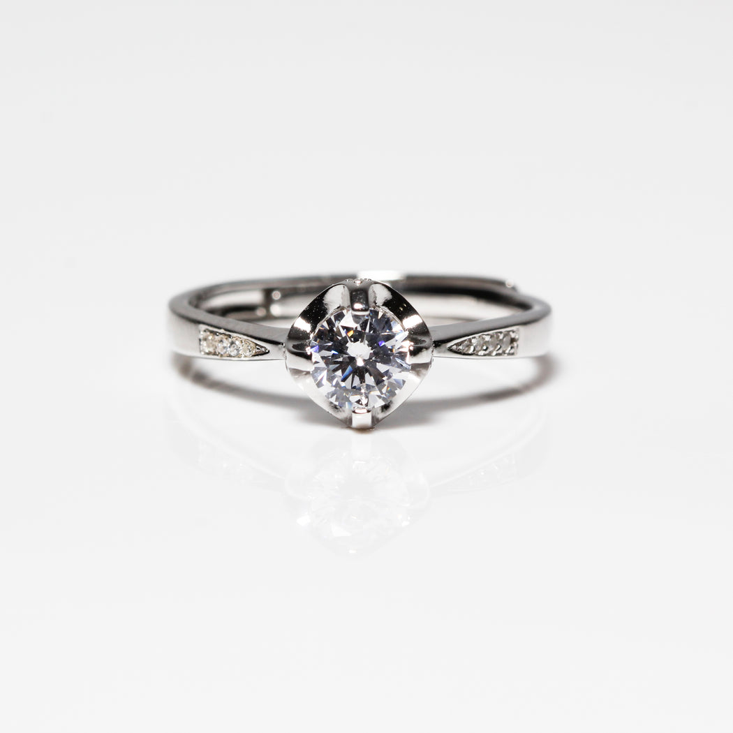 Simple 0.5 Carat Channel Setting Ring