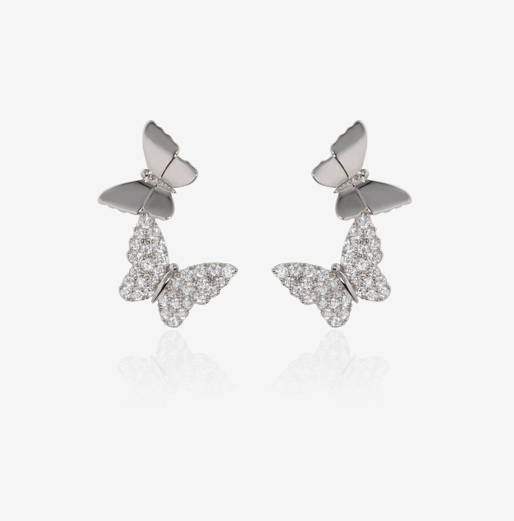 Fly Higher Butterfly Earrings