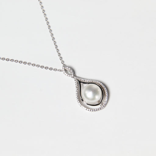 Teardrop Fresh Water Pearl Necklace
