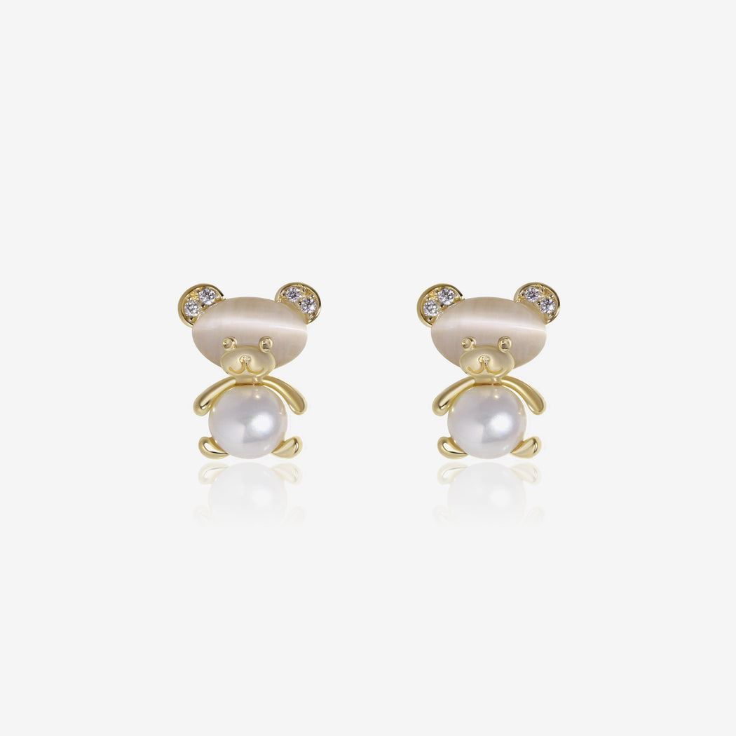 Baby Bear Earrings