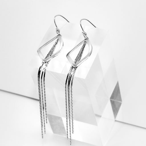 Geometric Shape Dangle Earrings