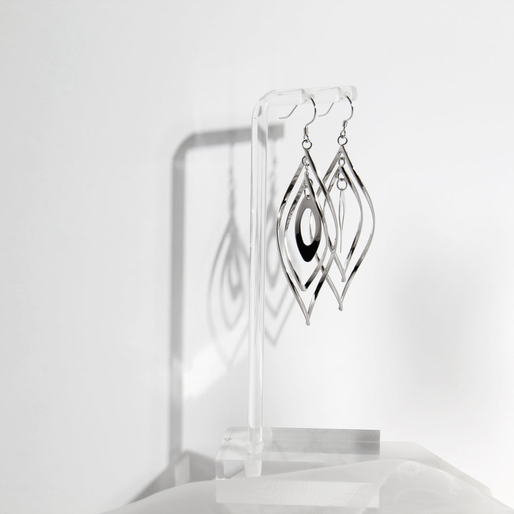Geometric Shape Dangle and Drop Earrings