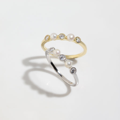 Pearl Dainty Ring