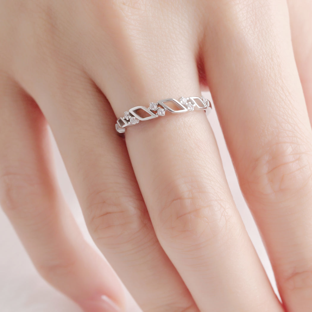 Geometric Shape Ring
