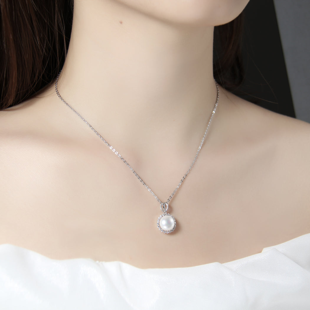 Simple Fresh Water Pearl Necklace