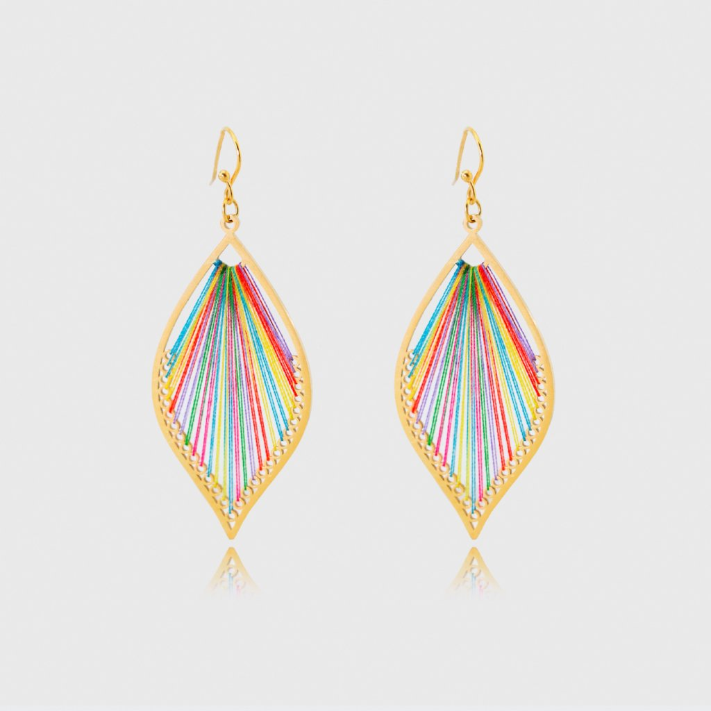 Colorful Threads Earrings