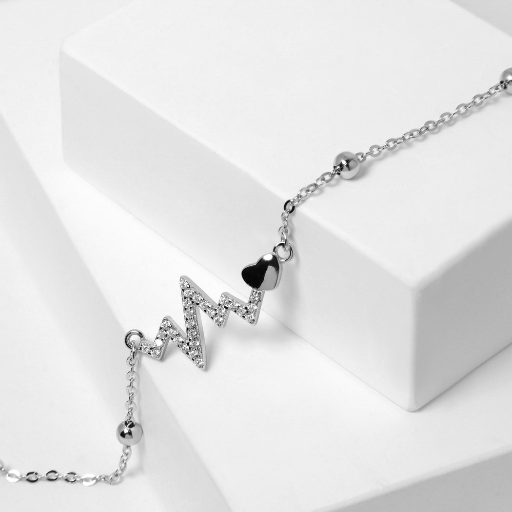 Heartbeat Anklet