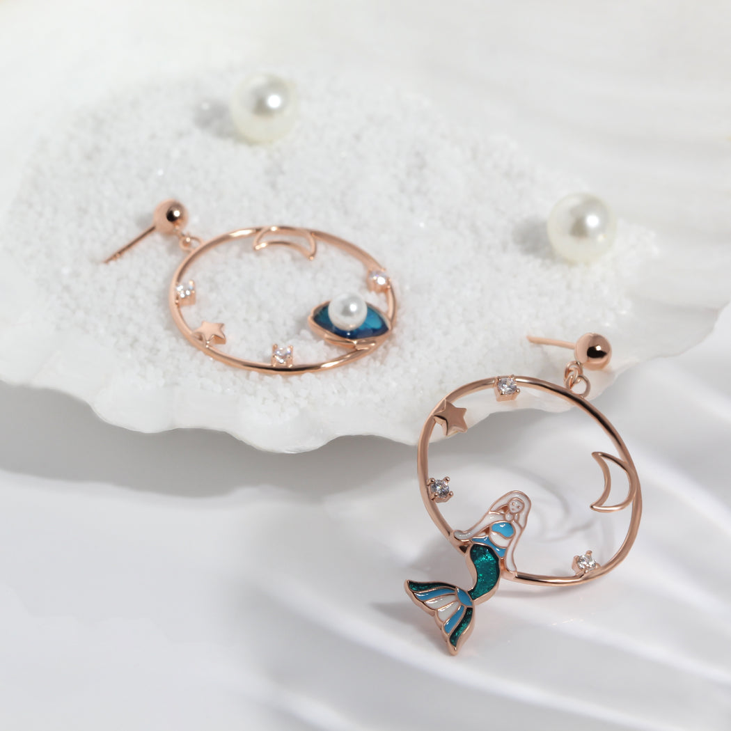 Little Mermaid Earrings