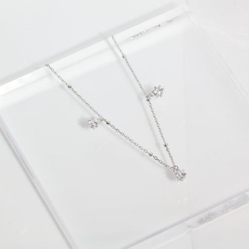 Simple Diamonds Anklet