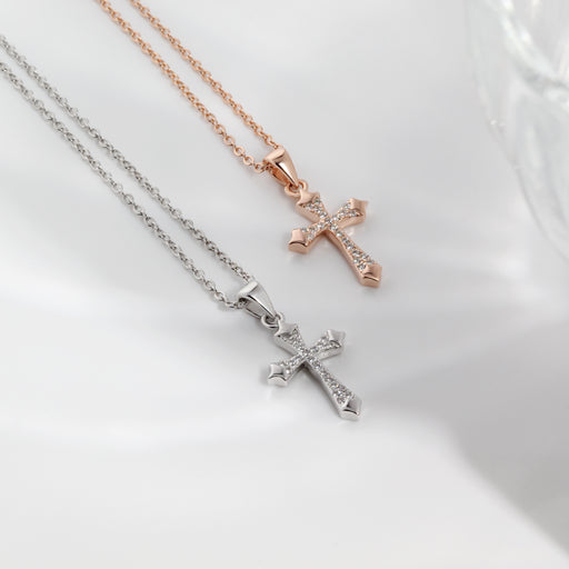 Holy Cross Pendant Necklace