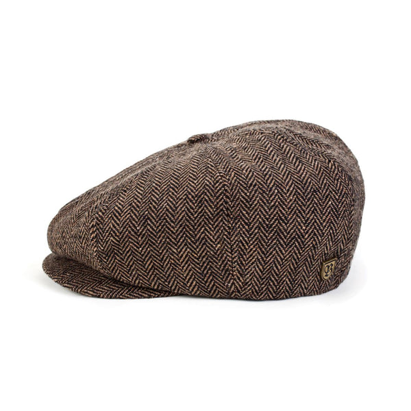 Brood Snap Cap in Brown Khaki - Brixton