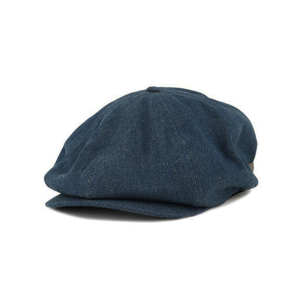 Brood Snap Cap in Dark Denim - Brixton