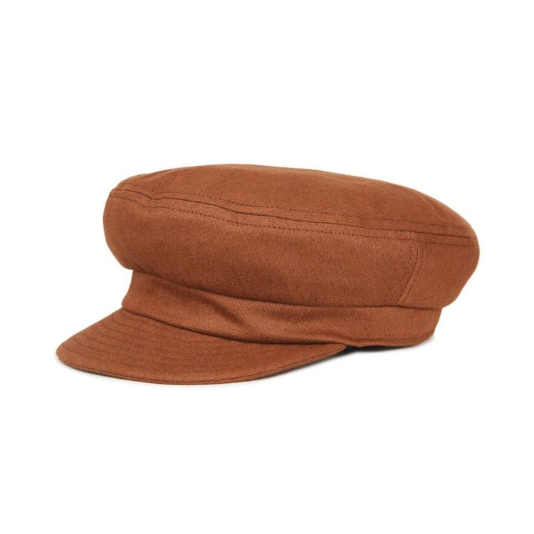 9c59f7276db Brixton Fiddler Unstructured Cap in Chestnut