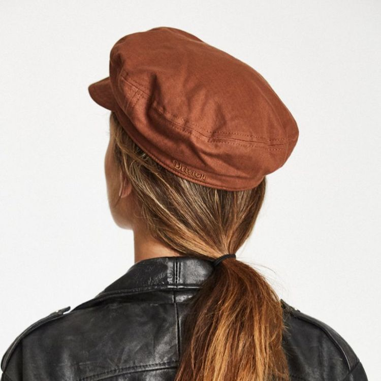 9acafcb542d ... Brixton Fiddler Unstructured Cap - Chestnut
